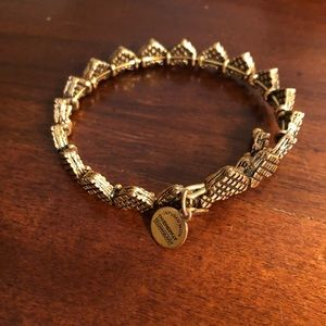 Alex and Ani gold bracelet